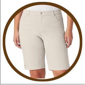 Plus Size GLORIA VANDERBILT Amanda Bermuda Shorts